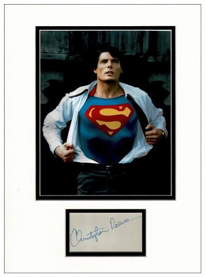 Christopher Reeve Autograph Signed - Superman